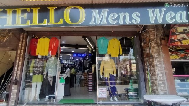 Hello Men's wear
